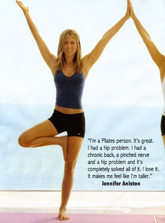 Pilates has benefits for everyone! See what Jennifer Aniston had to say.