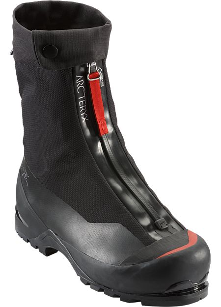 Acrux AR Mountaineering Boot A pinnacle of design for mountaineering, ice and mixed climbing, the Acrux AR is the lightest, most durable, and lowest profile insulated double boot available. AR: All-Round. Includes 1 pair of GORE-TEX® HIGH-LINERS.