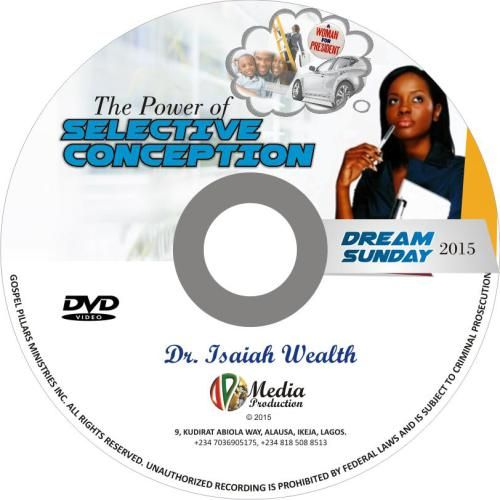 The Power of Selective Conception..Prayer may change your situation temporarily, but revelation changes your status forever. This week, go for REVELATION! Click Here bit.ly/2ato6xY To Get Your Copy Now!!!
