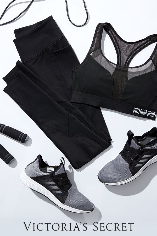 Need gym outfit inspo? Meet the New Total Knockout Tight & Powermesh Player Sport Bra | Victoria Sport