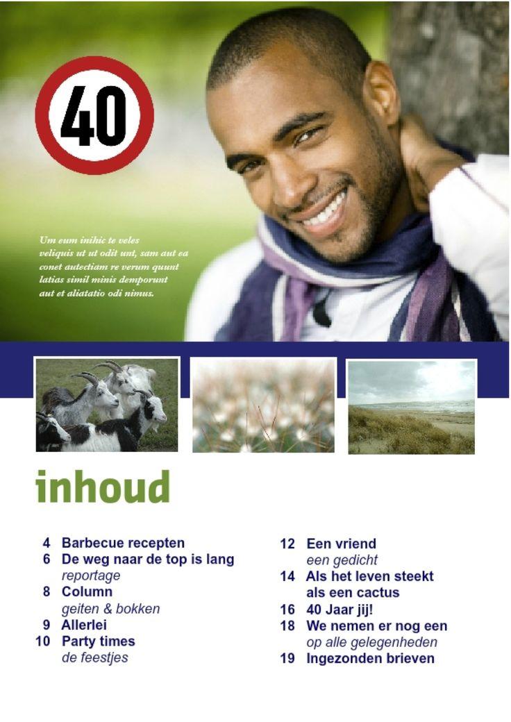 Er wordt er een jarig, hoera, hoera! Top verjaardagscadeau voor je vriend die 40 wordt bijvoorbeeld... http://www.jilster.nl/verjaardagscadeau