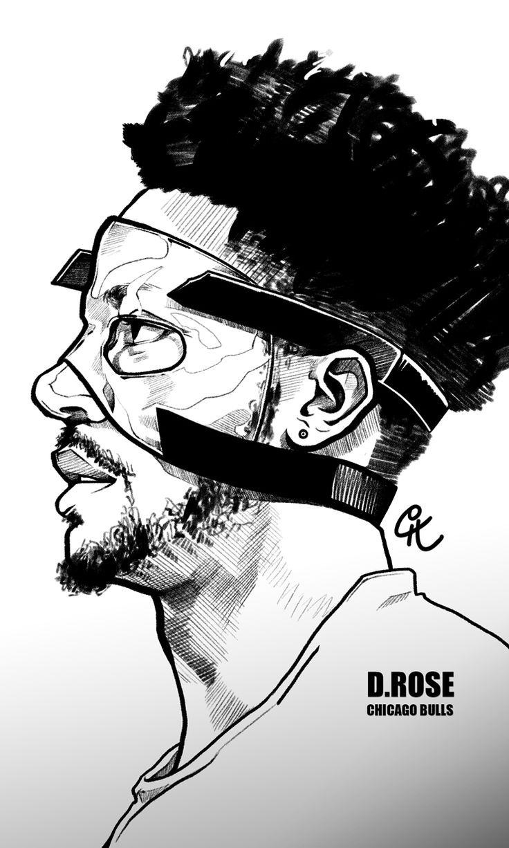 Derrick Rose 'Masked Man' Sketch - Hooped Up