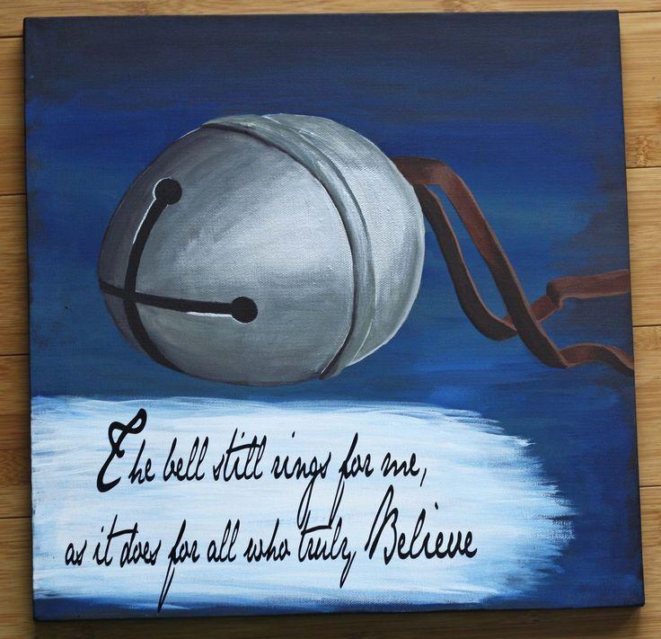 Polar Express Painting