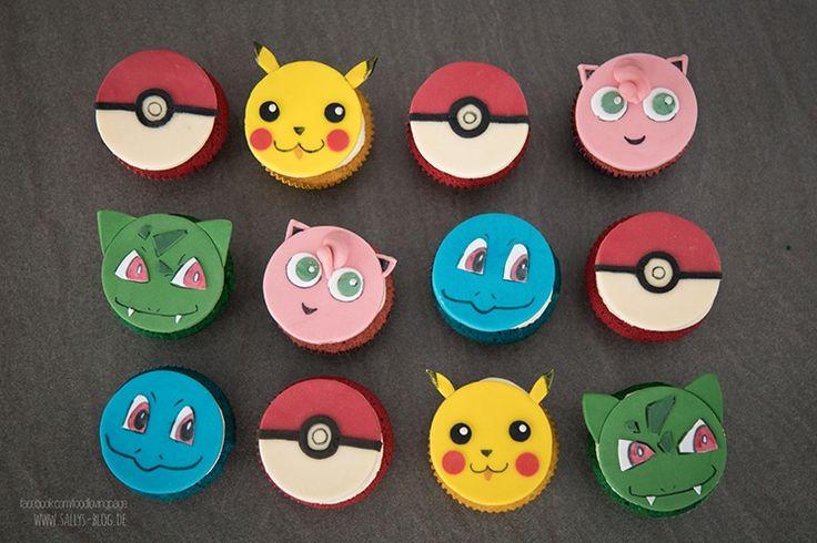Sallys Blog - Pokemon Go Cupcakes / Cupcake Topper