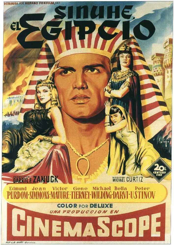 Sinuhé, el egipcio (1954) EEUU. Dir: Michael Curtiz. Drama. Antigo Egipto - DVD CINE 1277