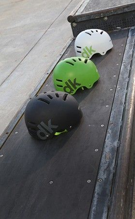 A helmet is integral when you're doing tricks. Look for an adjustable chin strap to get a snug fit. The DK BMX Bike Helmet is perfect for BMX riders.