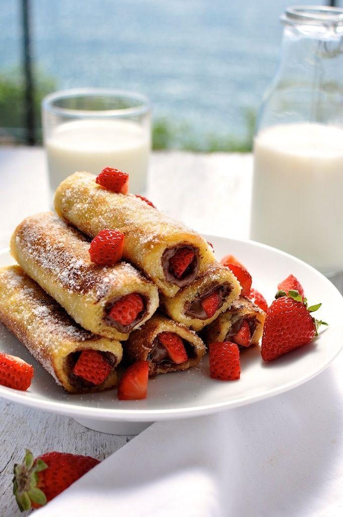Een heerlijk Nutella ontbijt- of brunchrecept | Gezin over de Kook