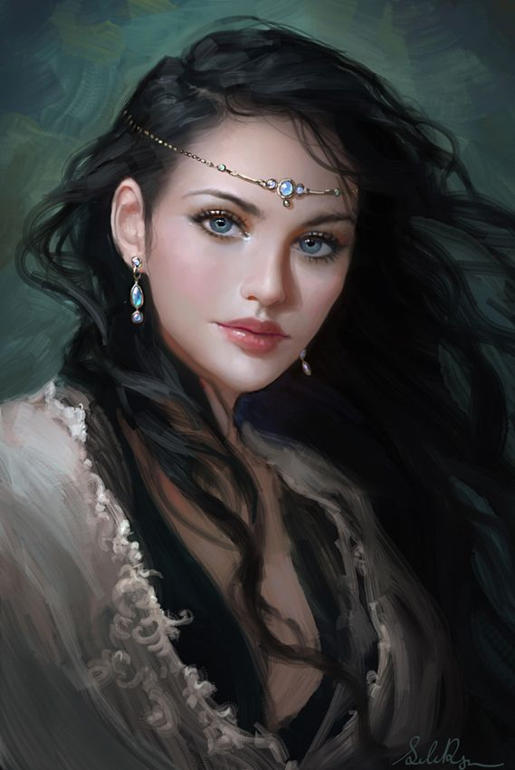 Princess Lauralye by Selenada on deviantART. I want her to do my cover art for my Fantasy Trilogy.