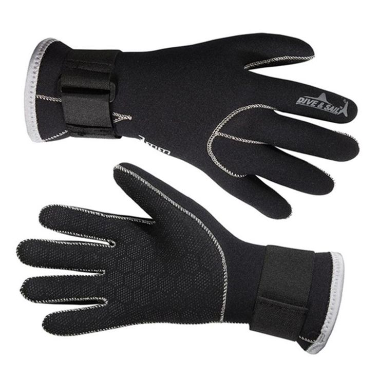 Wholesale Men Neoprene Keep Warm Wearable Flexible Gloves Diving Equipment Swimming Snorkeling Spearfishing Gloves G022