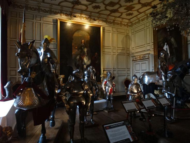 coleção de armaduras do warwick castle