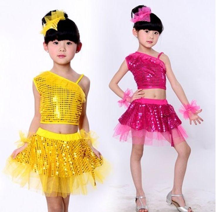 >> Click to Buy << Kid Children Latin Dancewear Competition Dancing Kids Girl Modern Dance Costume Child Cha-Cha Jazz Ballet Dance Dress For Girls #Affiliate