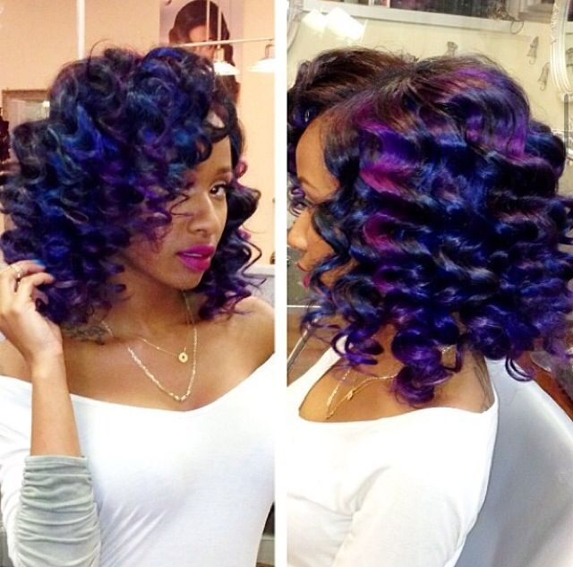 Kinky,Curly,Relaxed,Extensions,Board