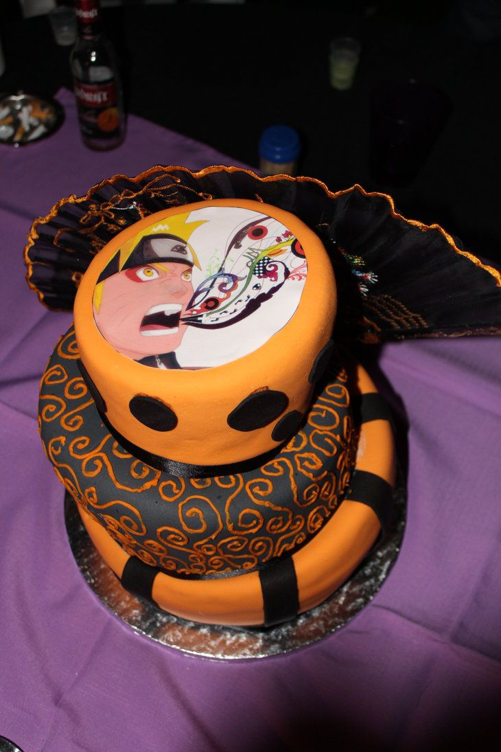 Naruto Cake Awesome Cakes Pinterest Cakes and Naruto