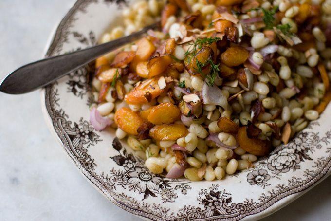 Carrot, Dill & White Bean Salad