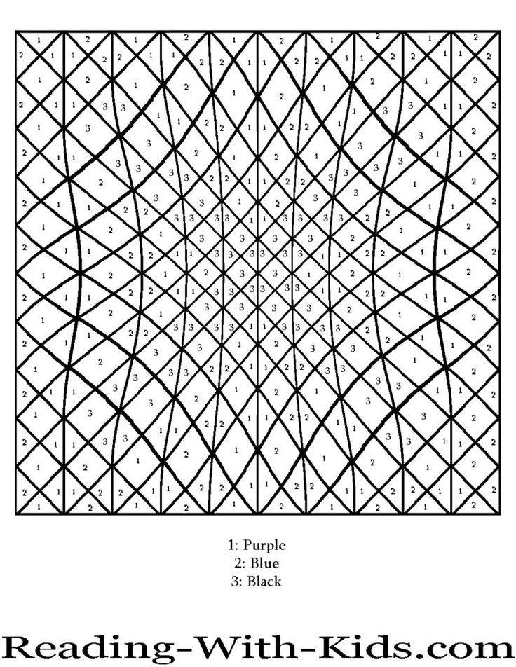 Coloring Pages: Difficult Color By Number Printables Az