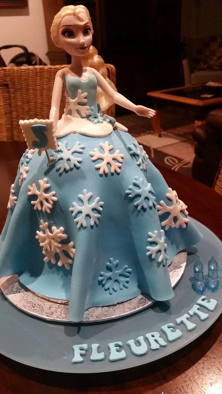 A little cake for Fleurette