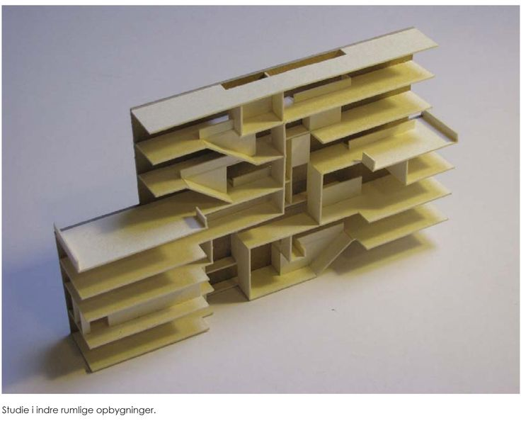 Building transformation, section model by Claus Nebelin, 2010