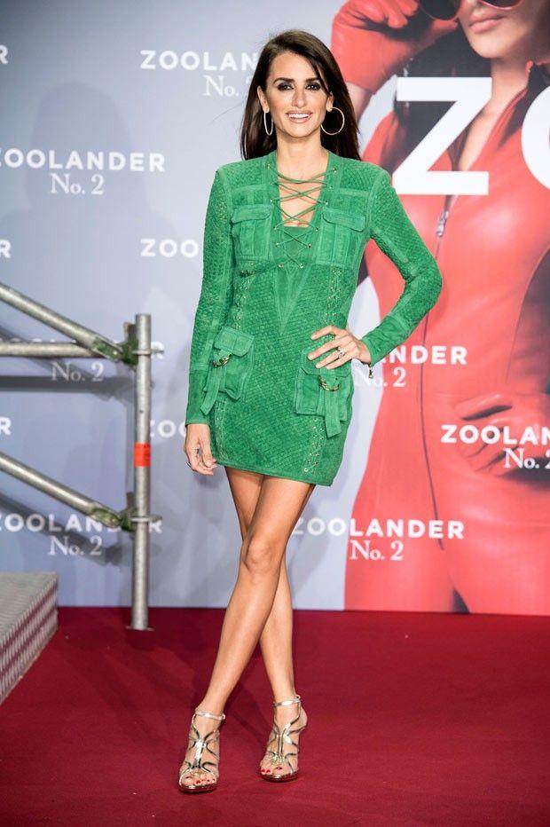 ¡Maja! Penélope Cruz se luce en la alfombra roja de Zoolander 2