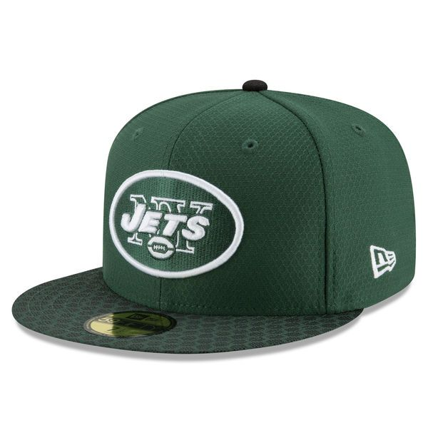 New York Jets New Era 2017 Sideline Official 59FIFTY Fitted Hat - Green - $39.99