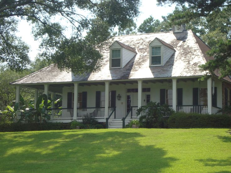Louisiana raised cottage home plans for Cottage style home designs