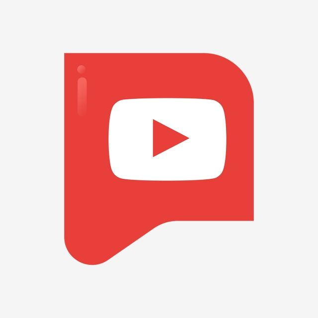 Youtube Logo Icon, Social, Media, Icon PNG and Vector with