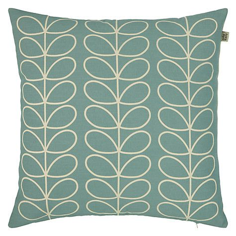 Buy Orla Kiely Linear Stem Cushion Online at johnlewis.com