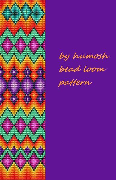 ethnic bead loom pattern by Humosh on Etsy