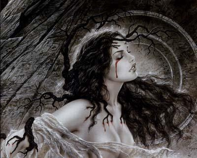 Image Gothique | Pour le plaisir des yeux: Luis Royo, Gothicart, Gothic Art, Fantasy Art, Beautiful, Fallen Angels, Dark Fantasy, Bedrooms Art, The Dark