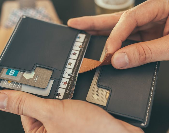The Bellroy Leather Note Sleeve Wallet hits the sweet spot of functionality and efficiency, with a range of features that do away with pocket bulge.