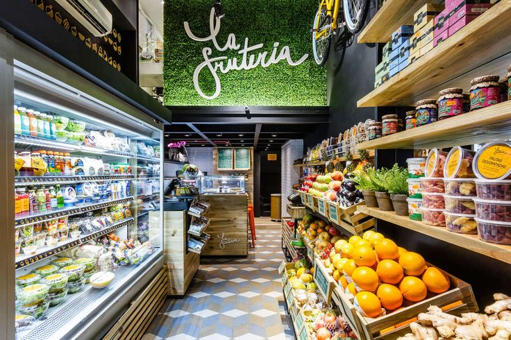 The brand 'La Fruteria' stands out with its unique concept