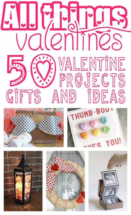50 Valentine Ideas: All Things Creative!