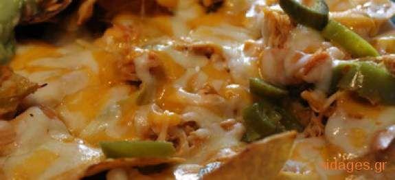 Νάτσος με κοτόπουλο - Chicken Nachos - συνταγές μαγειρικής & ζαχαροπλαστικής