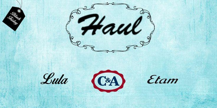 Comprando en Lula, C&A y Etam (Black Friday)