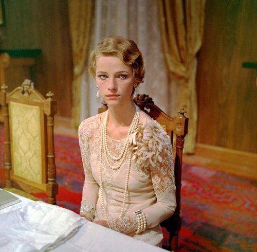 """Charlotte Rampling in """"La Caduta degli dei (1969)"""" of Luchino Visconti."""