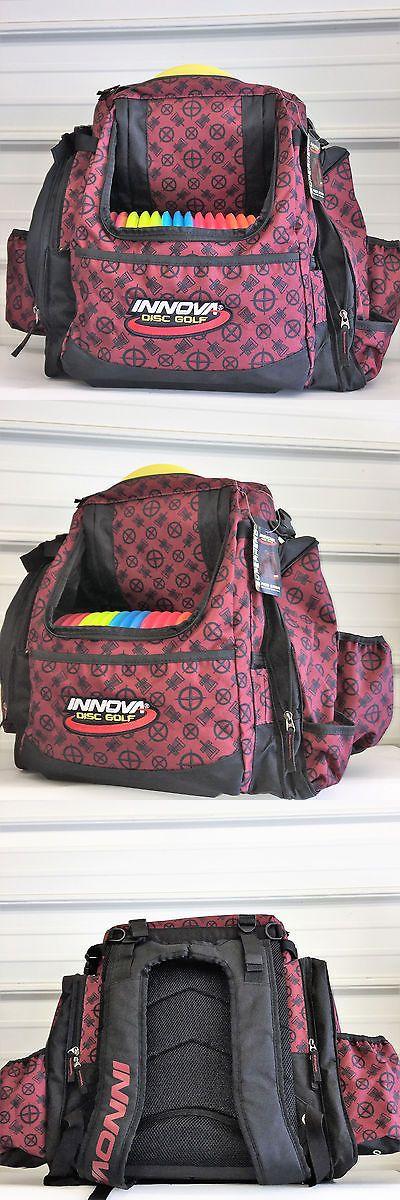 Disc Golf 20851: Wingz Disc Golf * Brand New Innova Super Hero Pack * Red Pattern Bag * Backpack -> BUY IT NOW ONLY: $109.95 on eBay!