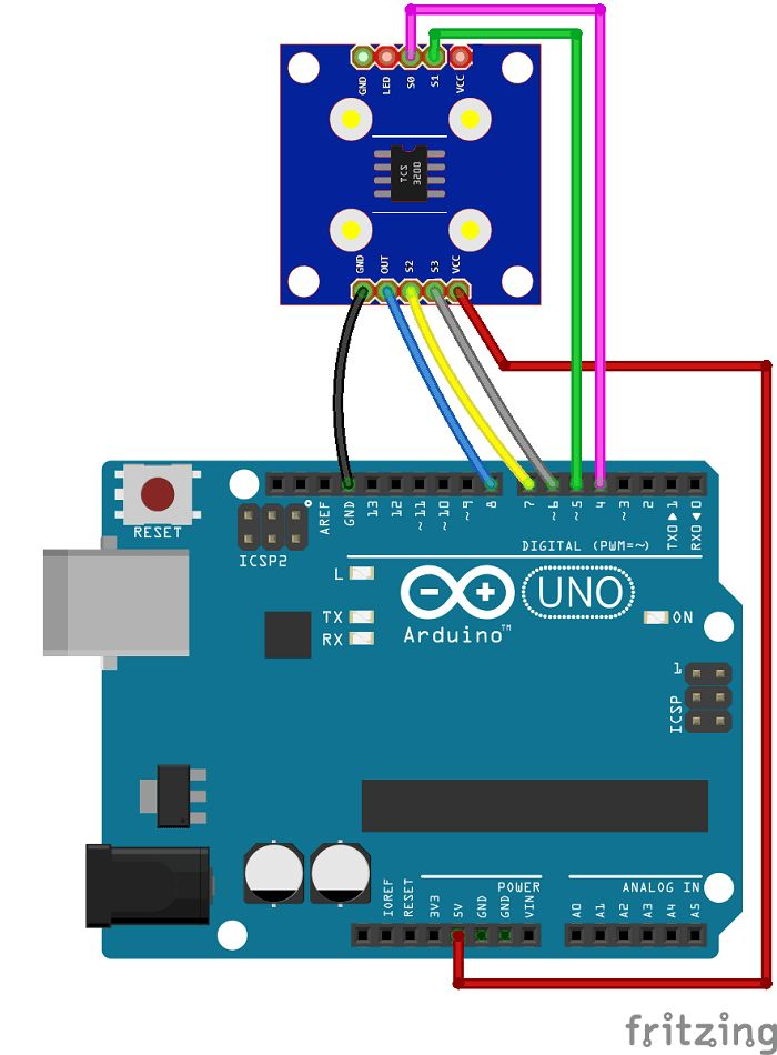 Arduino Color Sensor TCS230 TCS3200 | Random Nerd Tutorials | ARDUINO | Arduino, Arduino sensors