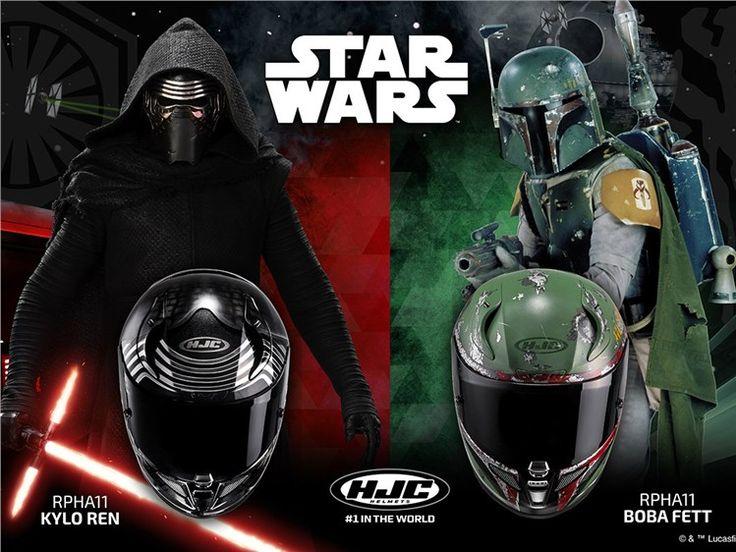 Capacetes+HJC+Star+Wars+com+base+no+topo+de+gama+RPHA+11