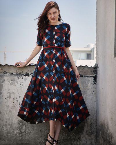 Pakistani Dress Design, Casual Frocks
