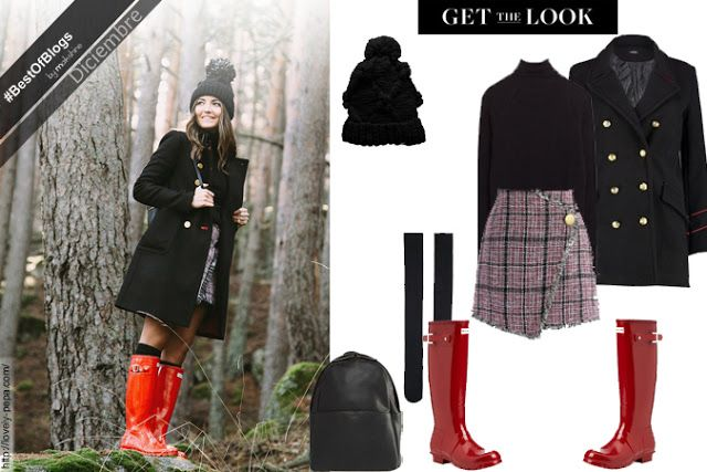 GET THE LOOK ♥ Blogger style | The best outfit of December → Lovely Pepa | Hunter boots ♥ El mejor look de Diciembre → Lovely Pepa blog de moda | Botas de lluvia Hunter | www.maikshine.com