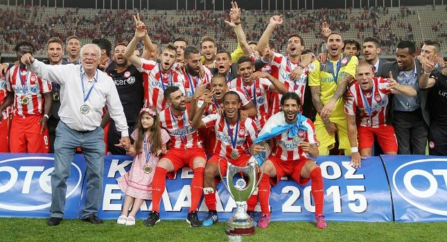 Olympiakos FC won the National Cup for 2015 after beating Xanthi FC 3-1!The 27th Cup in the great history of the football club and the 17th double!