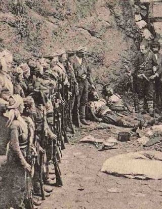 The Greek genocide, was the systematic ethnic cleansing of the Christian Ottoman Greek population in Asia Minor during World War I and its aftermath (1914–23). It was instigated by the government of the Ottoman Empire against the Greek population of the Empire and it included massacres, forced deportations involving death marches, summary expulsions, arbitrary executions, and destruction of Christian Orthodox cultural, historical and religious monuments.