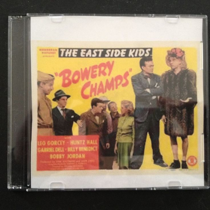 BOWERY CHAMPS East Side Kids Dead End Kids DVD 1944 Leo Gorcey, Huntz Hall