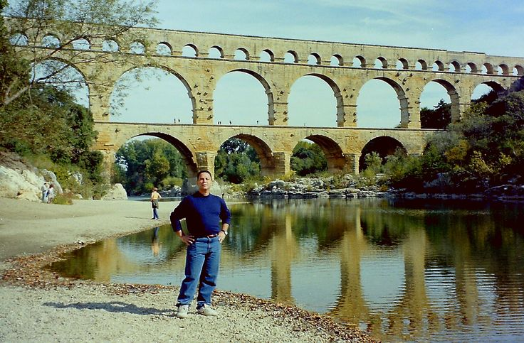 Pont du Gard, França: 1998