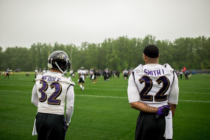 Eric Weddle and Jimmy Smith
