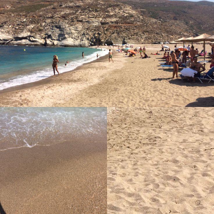 Andros, Zorkos beach