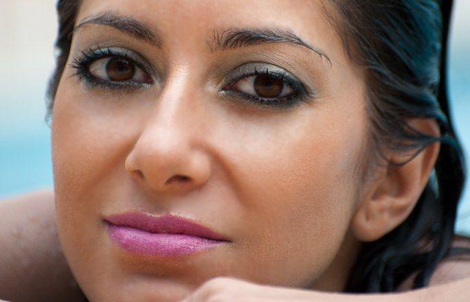 Il primo tutorial fotografico di make-up: Aquatique | #Makeup verde, gioca sui #colori :)