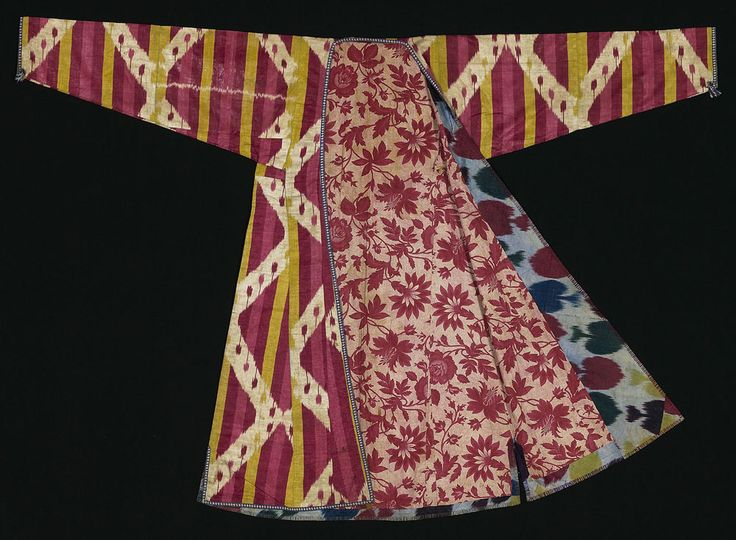Uzbek Robe Courtesy of The Textile Museum