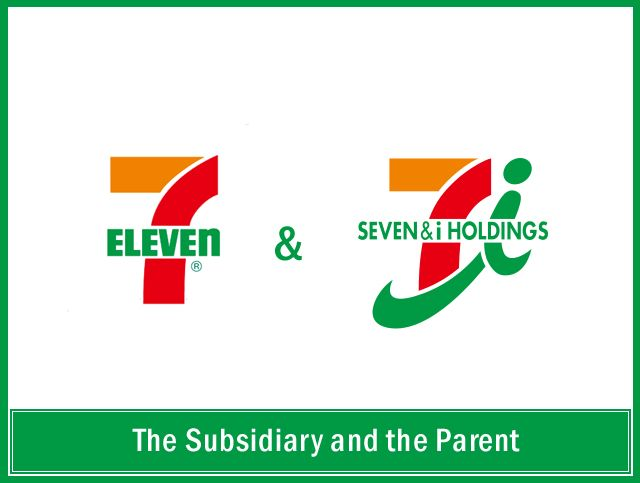 BOTH - 7-11 is featured b/c they will take all credit/debit cards & their ATMs do not charge fees (yay!). And for those who care, 7-11 + 7&i-holdings are the same thing. I Holdings bought 7-11 in 2005 according to wiki (they also own White Hen!)
