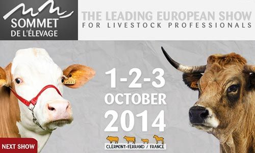 #Sommet_Elevage 2014 - The #Livestock leading #european_show 1-2-3 #October #Clermont_Ferrand (F)