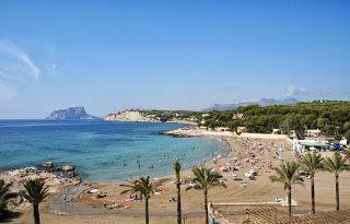 Spanje vakantie: Moraira een kleine havenstad aan de Costa Blanca